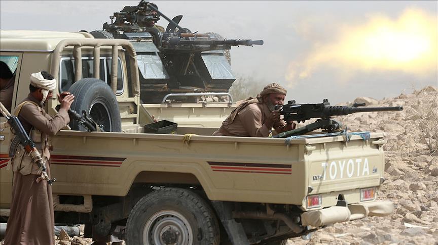 قتلى وجرحى من الحوثيين في جبهة نهم