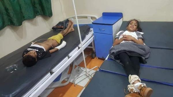معظمهم أطفال.. مقتل وإصابة 8 مدنيين بقصف صاروخي للحوثيين في تعز