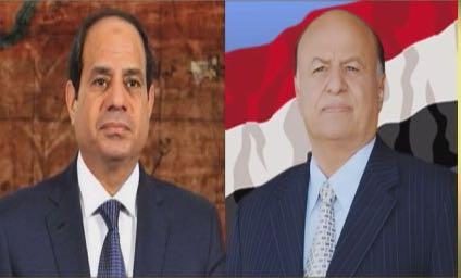 رئيس الجمهورية يتلقى اتصالا هاتفيا من أخيه الرئيس عبدالفتاح السيسي