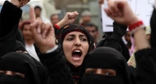 مقتل وإصاابة قرابة 2900 امرأة في تعز خلال أربع سنوات