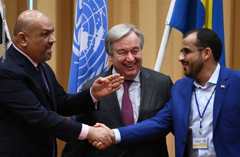 الحوثيون يقولون إن الحكومة الشرعية تطرح مطالب خارج اتفاق الحديدة بإيعاز من بريطانيا