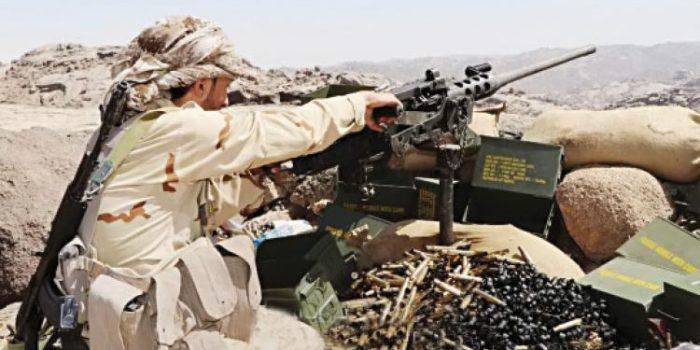 قوات الجيش تحرر مواقع جديدة في مديرية قعطبة