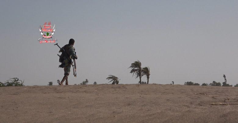 قصف حوثي على القوات المشتركة جنوب الحديدة