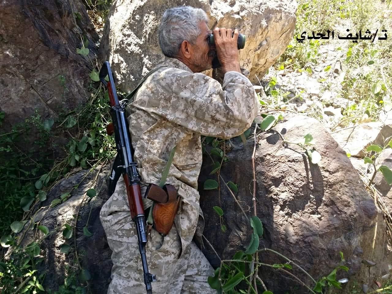 استشهاد قائد عسكري رفيع بمعارك عنيفة شمال الضالع .. من هو ؟