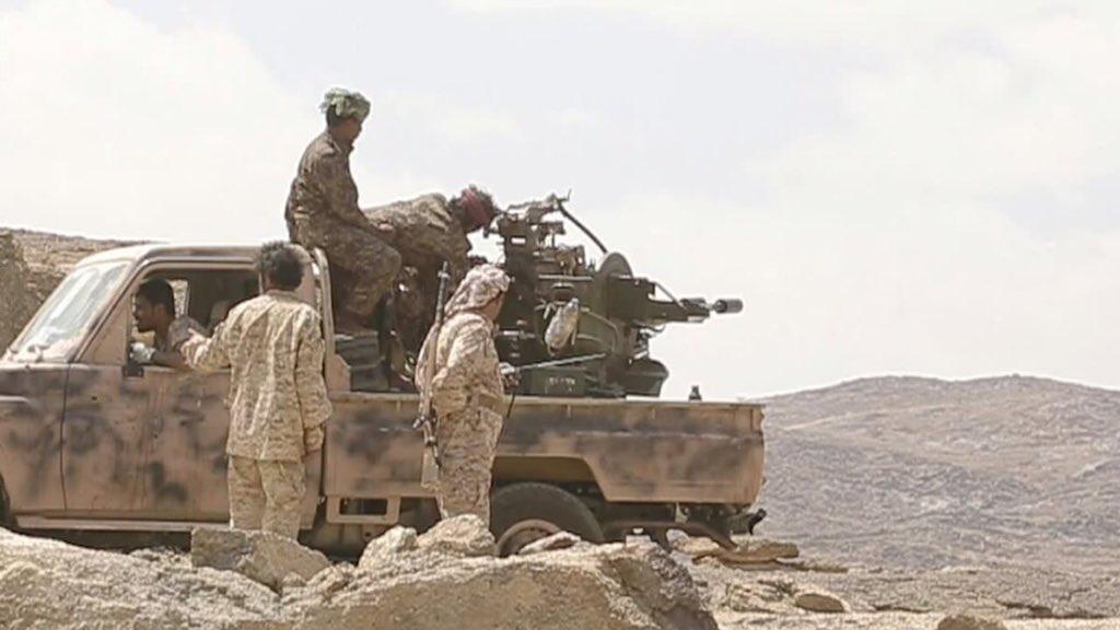 عملية نوعية للجيش الوطني تكبد مليشيا الحوثي خسائر فادحة  بجبهة رازح