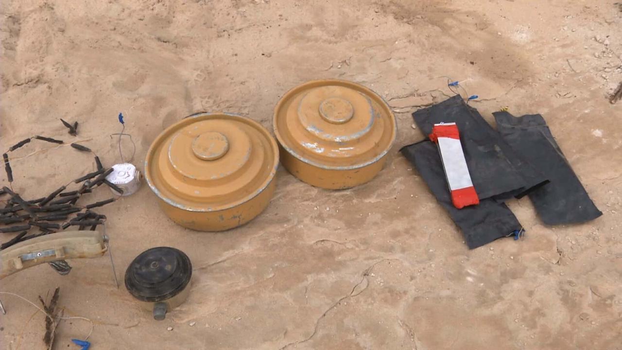"""مشروع """"مسام"""" التابع لمركز الملك سلمان ينزع أكثر من 1400 لغم زرعه الحوثيون خلال أسبوع"""
