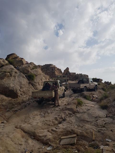 الجيش يحبط هجمات حوثية متكررة في مديرية رازح بصعدة