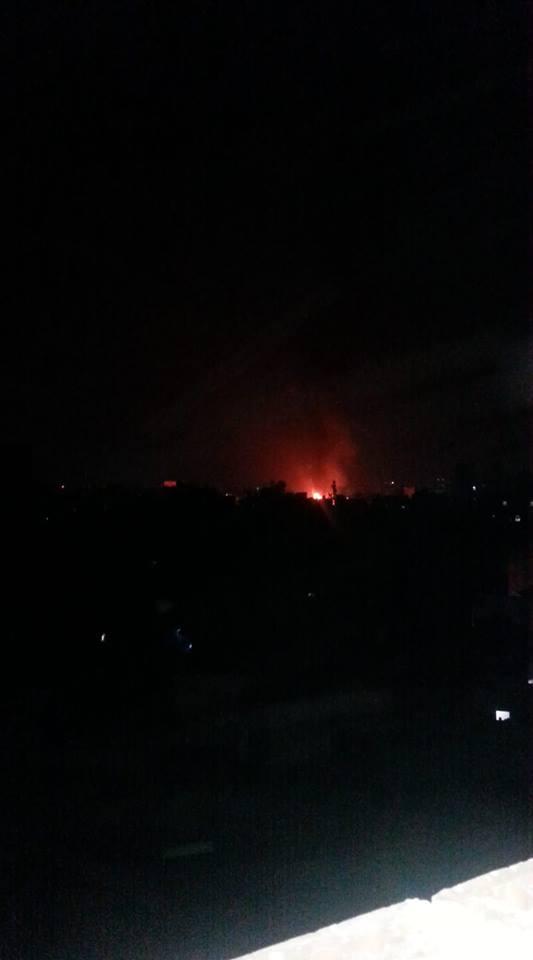 غارات عنيفة تهز العاصمة صنعاء والتحالف يكشف عن طبيعة الموقع المستهدف