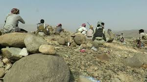 """قتلى وجرحى من الحوثيين في معارك عنيفة في نهم شرق صنعاء وضبط """"دينة"""" تحمل حشيش مخدر"""