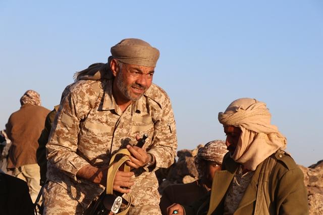 قائد المنطقة العسكرية الثالثة: من يصنعون انتصارات وهمية فضحهم الميدان وقوة الأبطال في صرواح