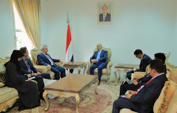 اليمن يتسلم أوراق اعتماد السفير التركي الجديد