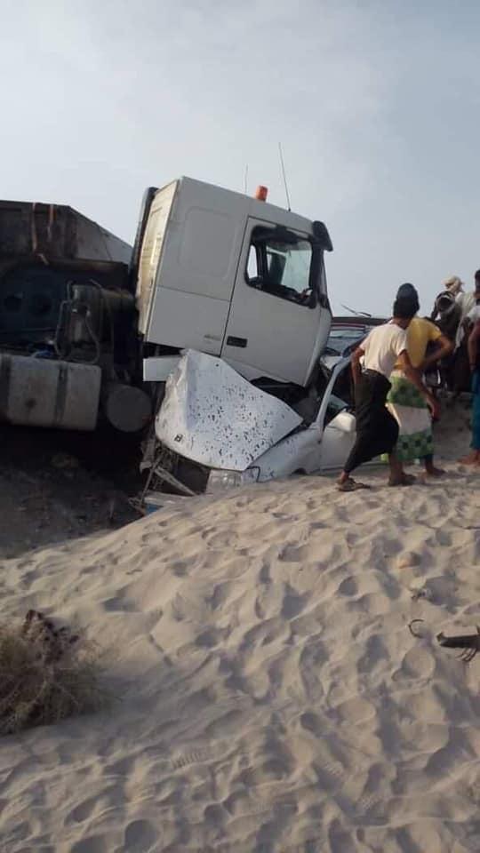 وفاة أسرة كاملة بحادث مروع في طريق العبر (صورة)