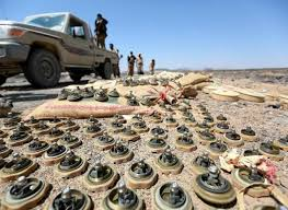 اتلاف عدد من الألغام زرعها الحوثيون بمحافظة صعدة