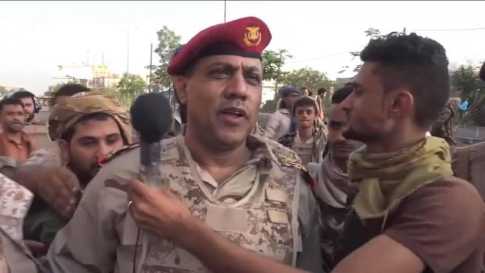 أول تصريح صحفي لقائد محور تعز حول العملية العسكرية الجارية بالمحافظة