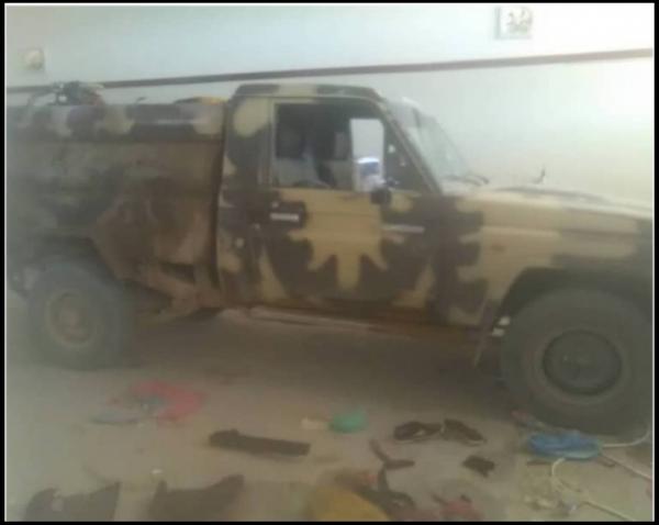 مقتل أربعة من ميلشيات الحوثي في هجوم طقم يقل مسلحيهم